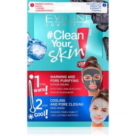 ЕВЕ CLEAN YOUR SKIN МАСКА ЗА ПРОБЛЕМАТИЧНО ЛИЦЕ 2во1 5 мл.