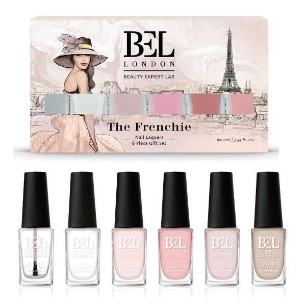 BEL LONDON ЛАК ЗА НОКТИ СЕТ The Frenchie 6 пар.