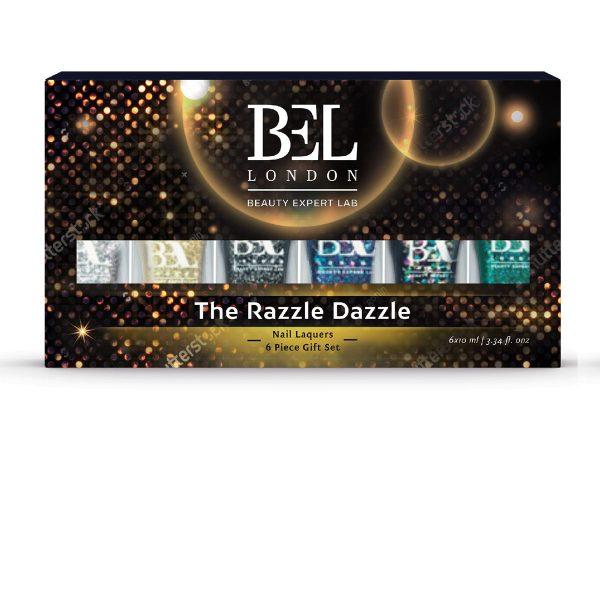 BEL LONDON ЛАК ЗА НОКТИ СЕТ The Razzle Dazzle 6 пар.